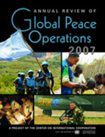 Annual Review of Global Peace Operations, 2007