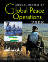 Annual Review of Global Peace Operations, 2008