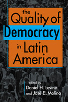 an introduction to the analysis of democracy in latin america Introduction today, the countries of latin america confront  variance in the level of democracy in latin america,  many of the lessons drawn from the analysis.
