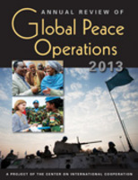 Annual Review of Global Peace Operations, 2013