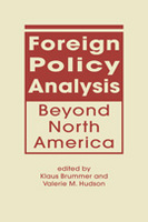 Foreign Policy Analysis Beyond North America
