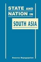State and Nation in South Asia